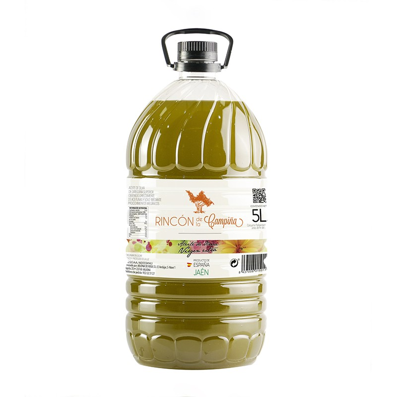 Aceite Oliva Virgen Extra Rincón De La Campiña Arjona de Rasa