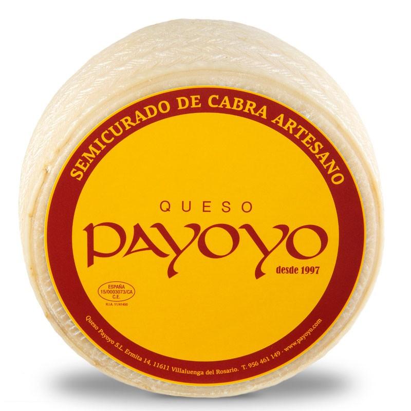 Queso Semicurado Cabra Payoyo