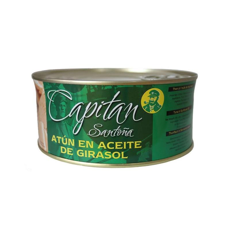 Atún en Aceite de Girasol Capitán Santoña